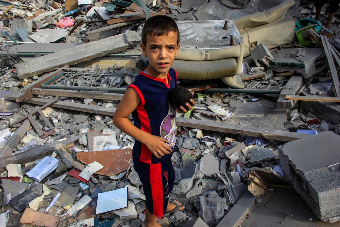Boje v Gaze