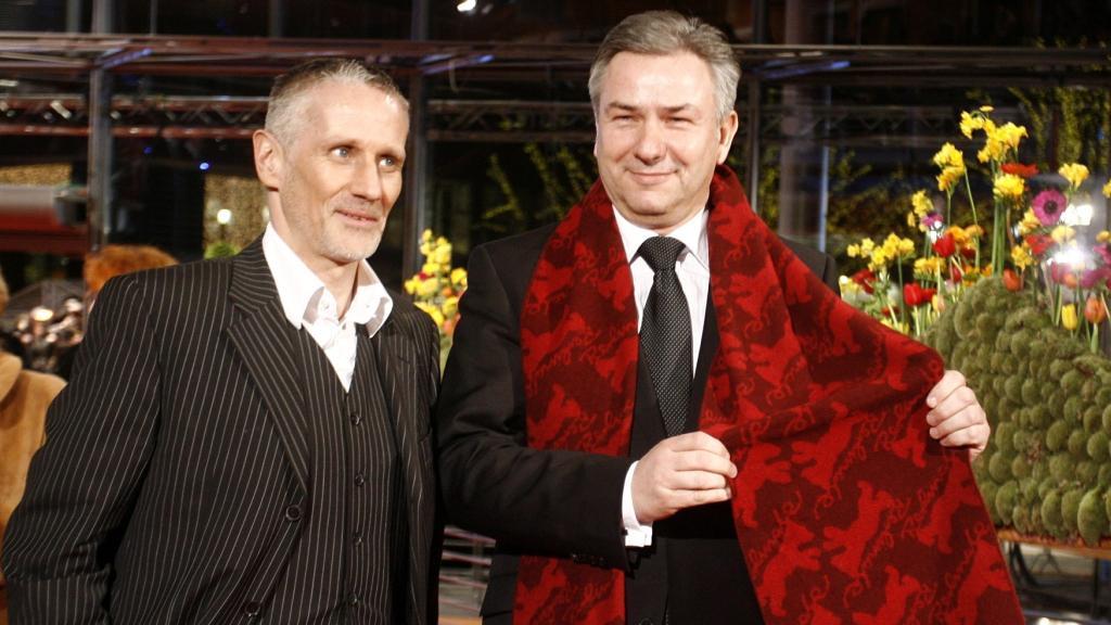 Klaus Wowereit (vpravo) a Joern Kubicki