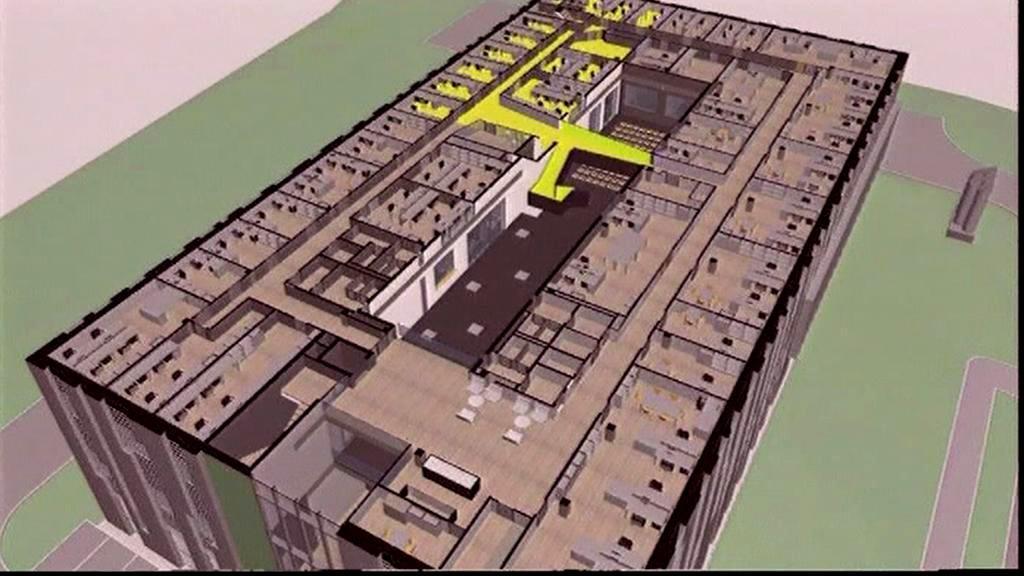 Vizualizace ostravského počítačového centra