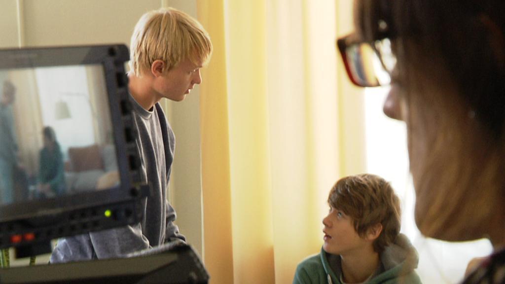 Natáčení Rodinného filmu