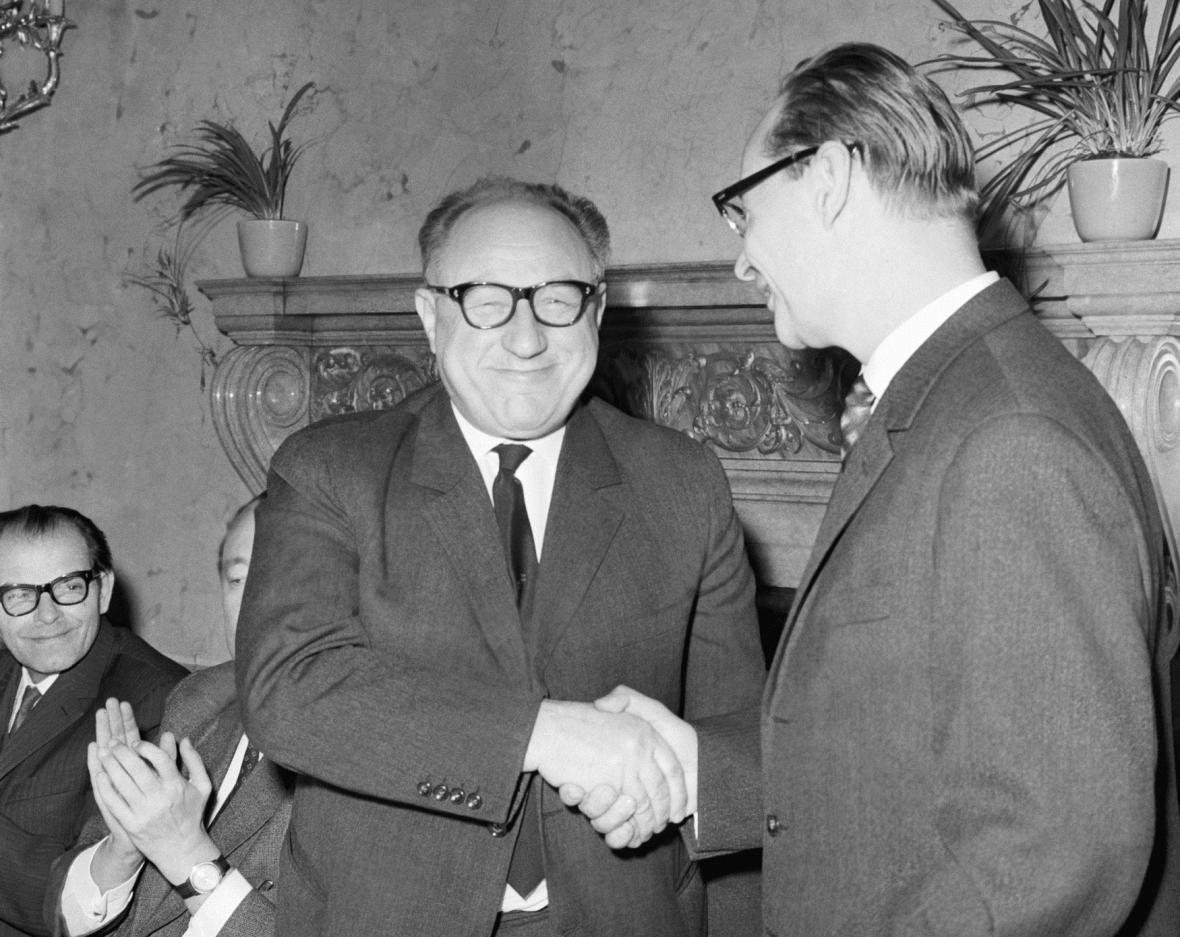 František Kriegel a Alexander Dubček