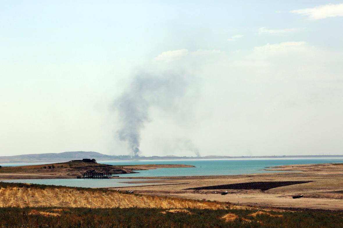 Boje u Mosulské přehrady