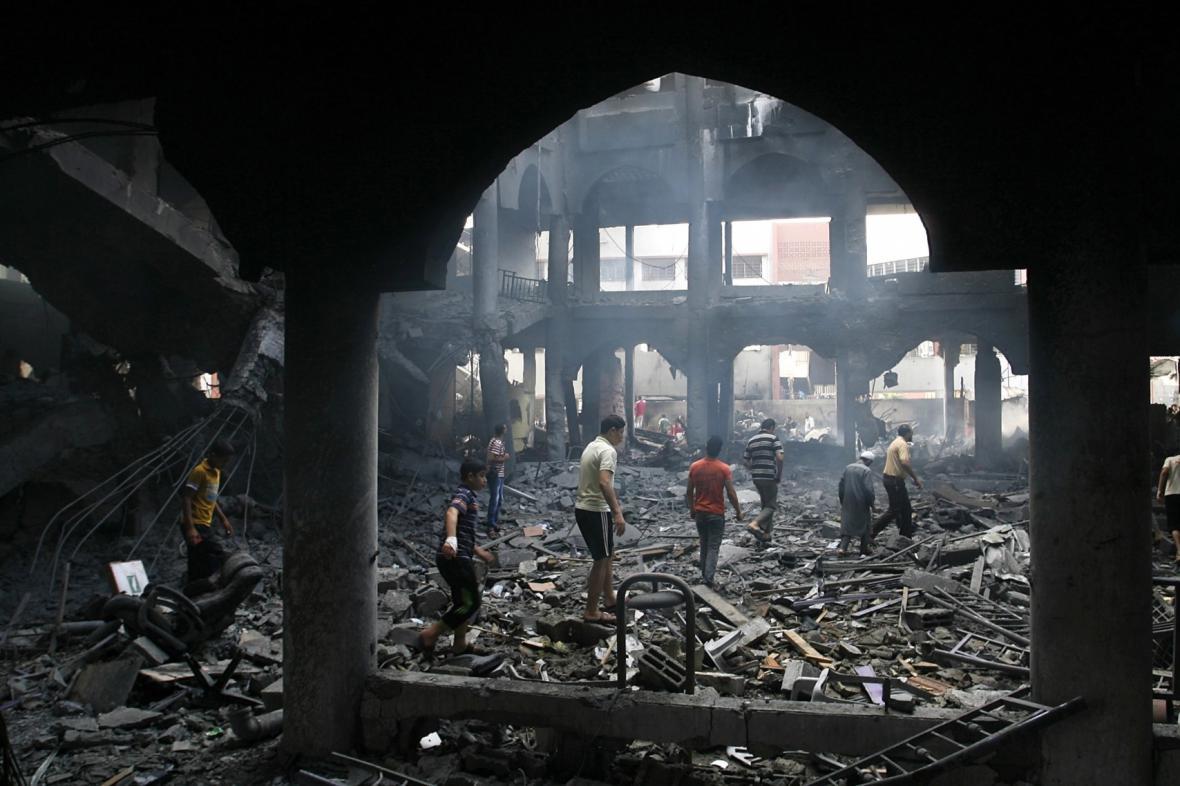 Útok v Gaze