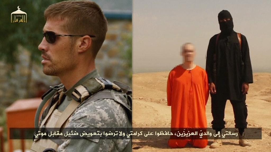 IS zveřejnil video se stětím novináře Foleyho