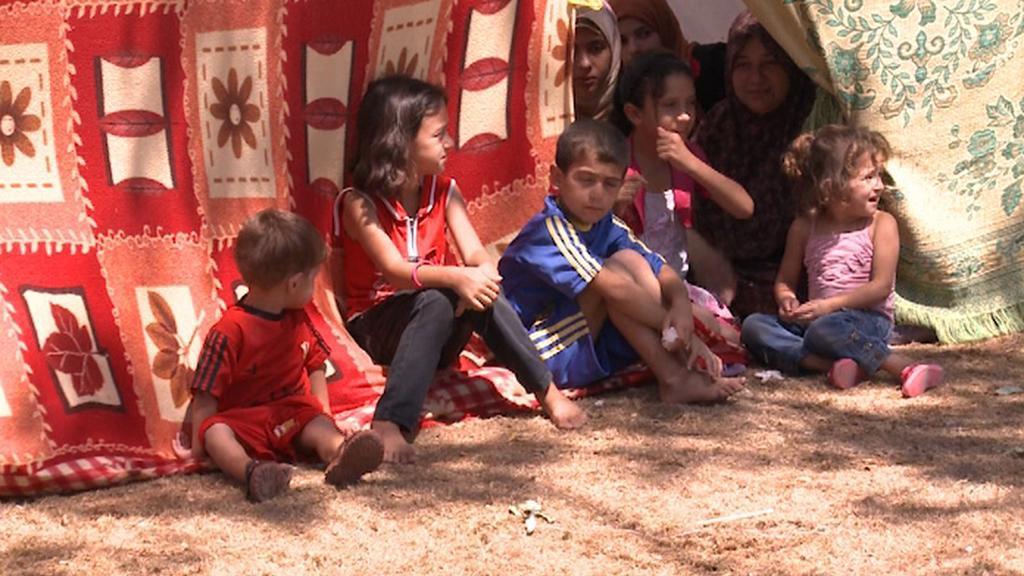 Děti v Pásmu Gazy