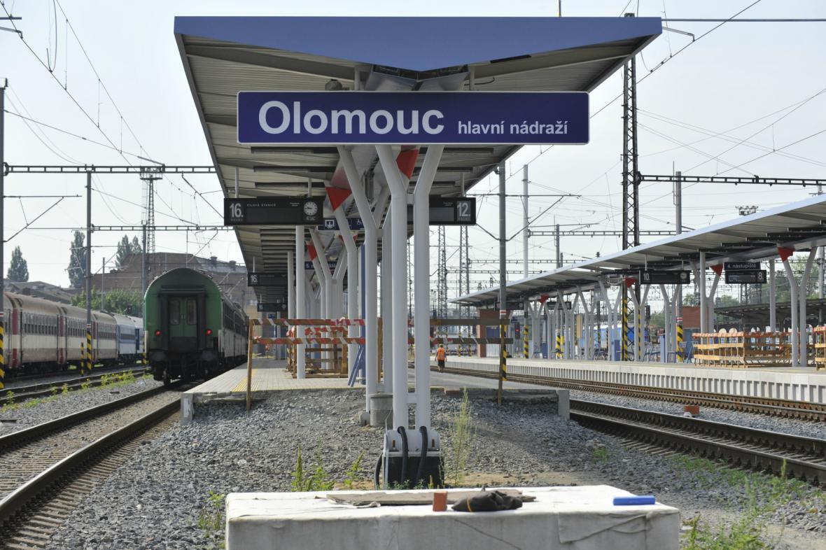 Pokračování rekonstrukce nádraží v Olomouci spolkne stovky milionů
