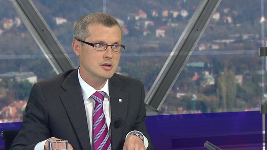 Viceguvernér ČNB Vladimír Tomšík