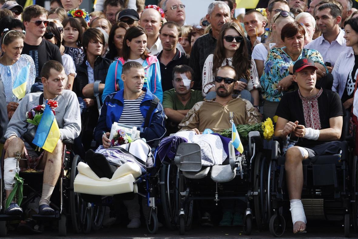 Ukrajina slaví Den nezávislosti