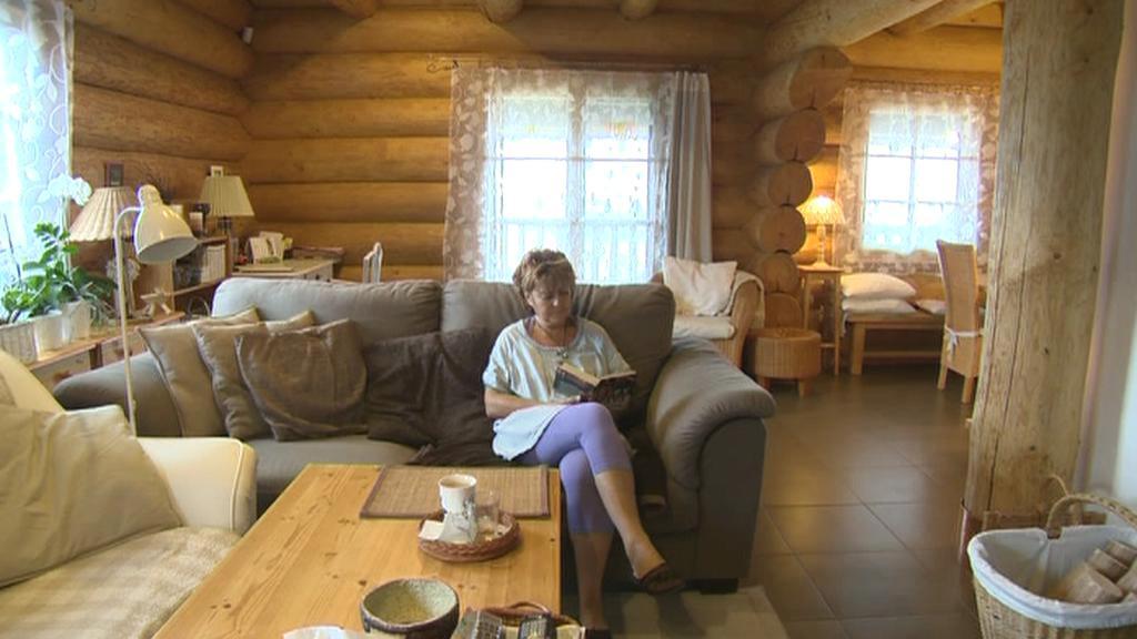 Paní Ivana se rozhodla strávit důchod na chalupě
