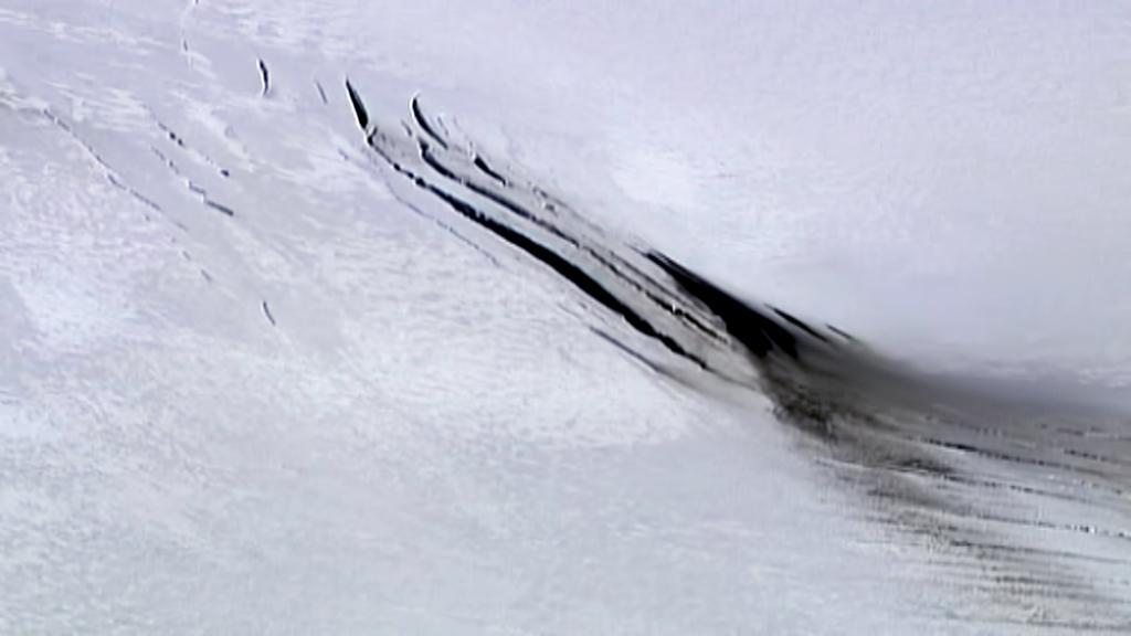 Sopku Bárdarbunga pokrývá ledovec Vatnajökull