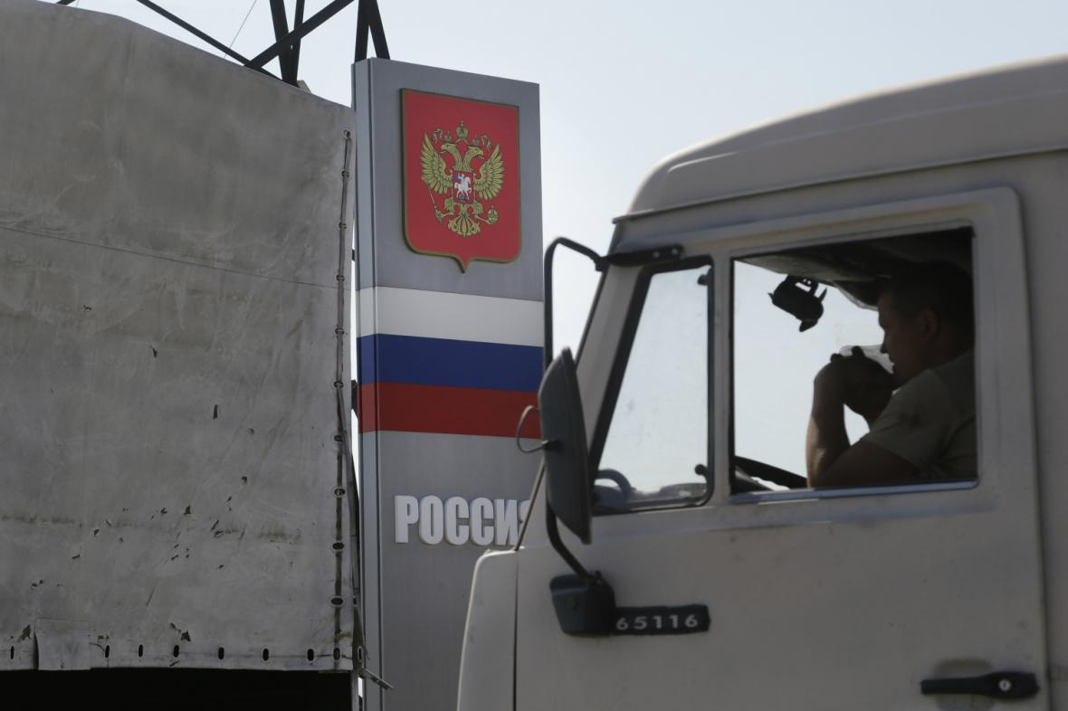 Ruské kamiony opustily ukrajinské území