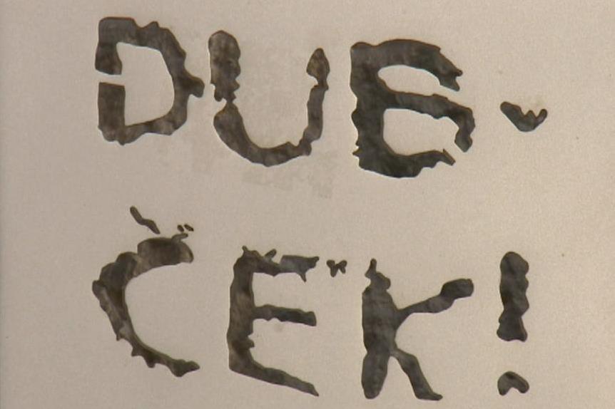 Srpen 1968 a nápis na jedné z berlínských zdí