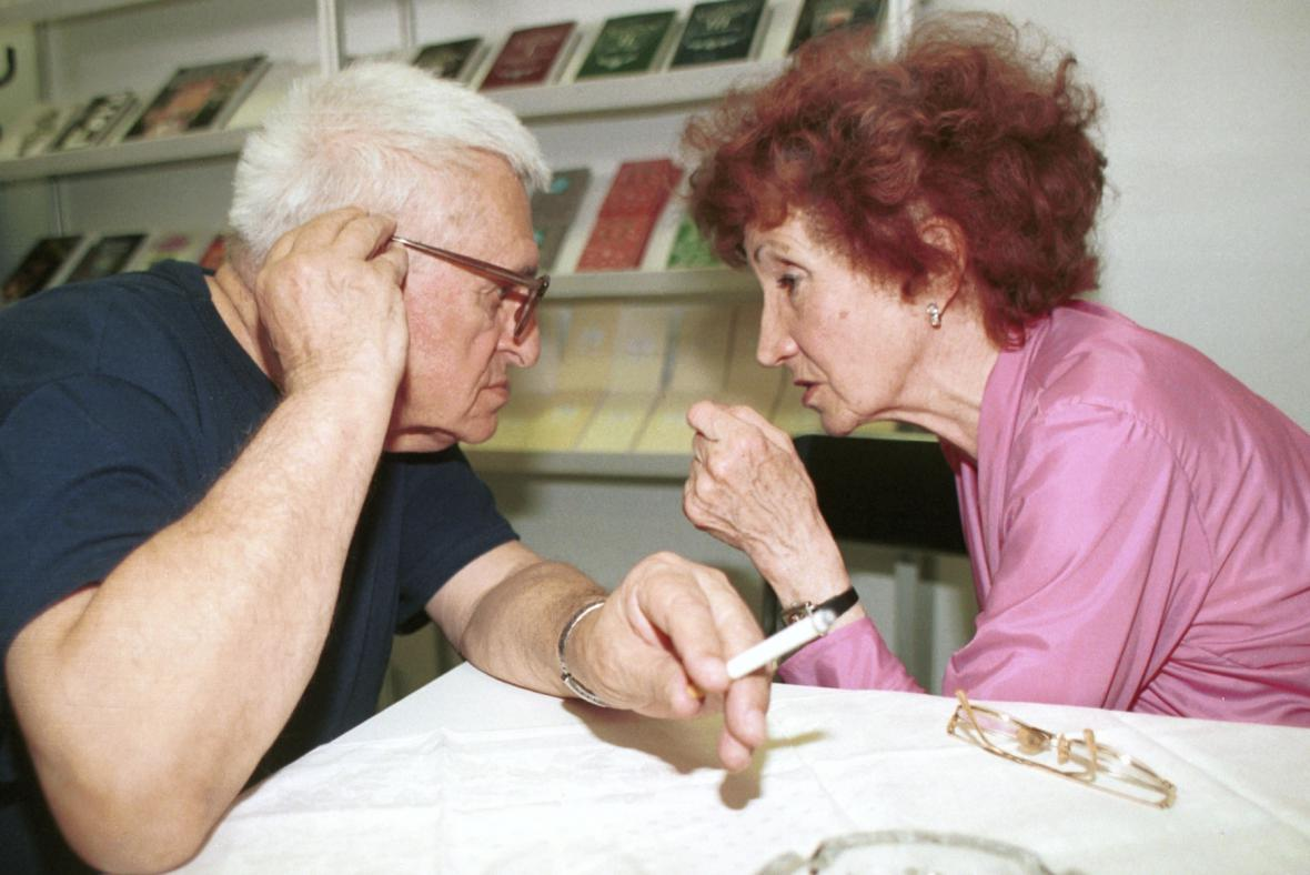 Josef Hiršal a Bohumila Grögerová