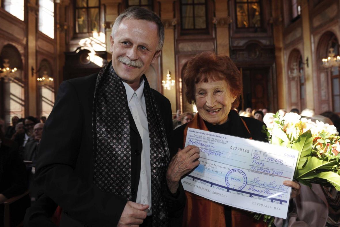 Jiří Dědeček a Bohumila Grögerová