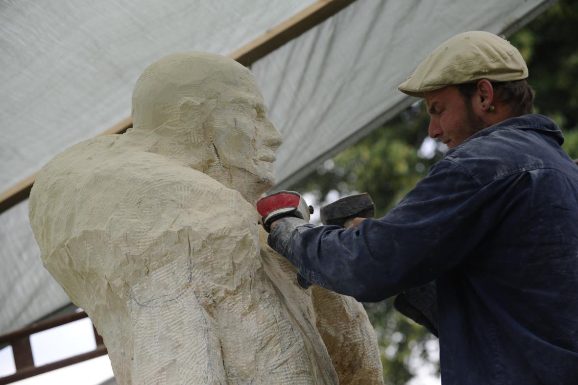 Výroba betlému ve Vískách na Blanensku
