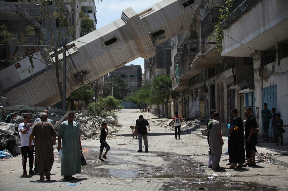 Izraelsko-palestinský konfilkt