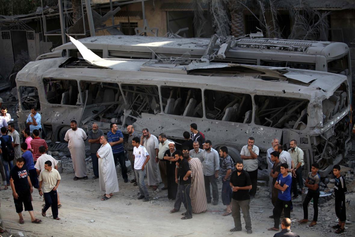 Zkáza v Gaze