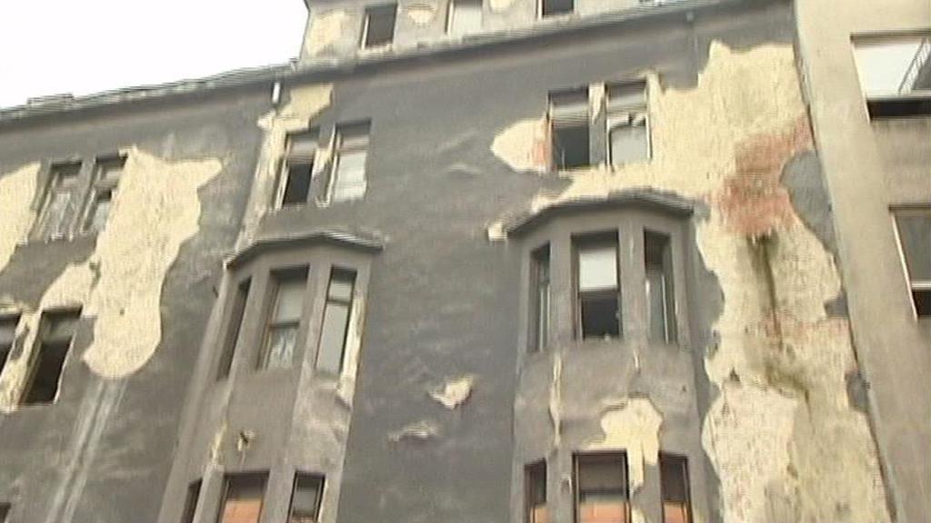 Zničená Ostravica