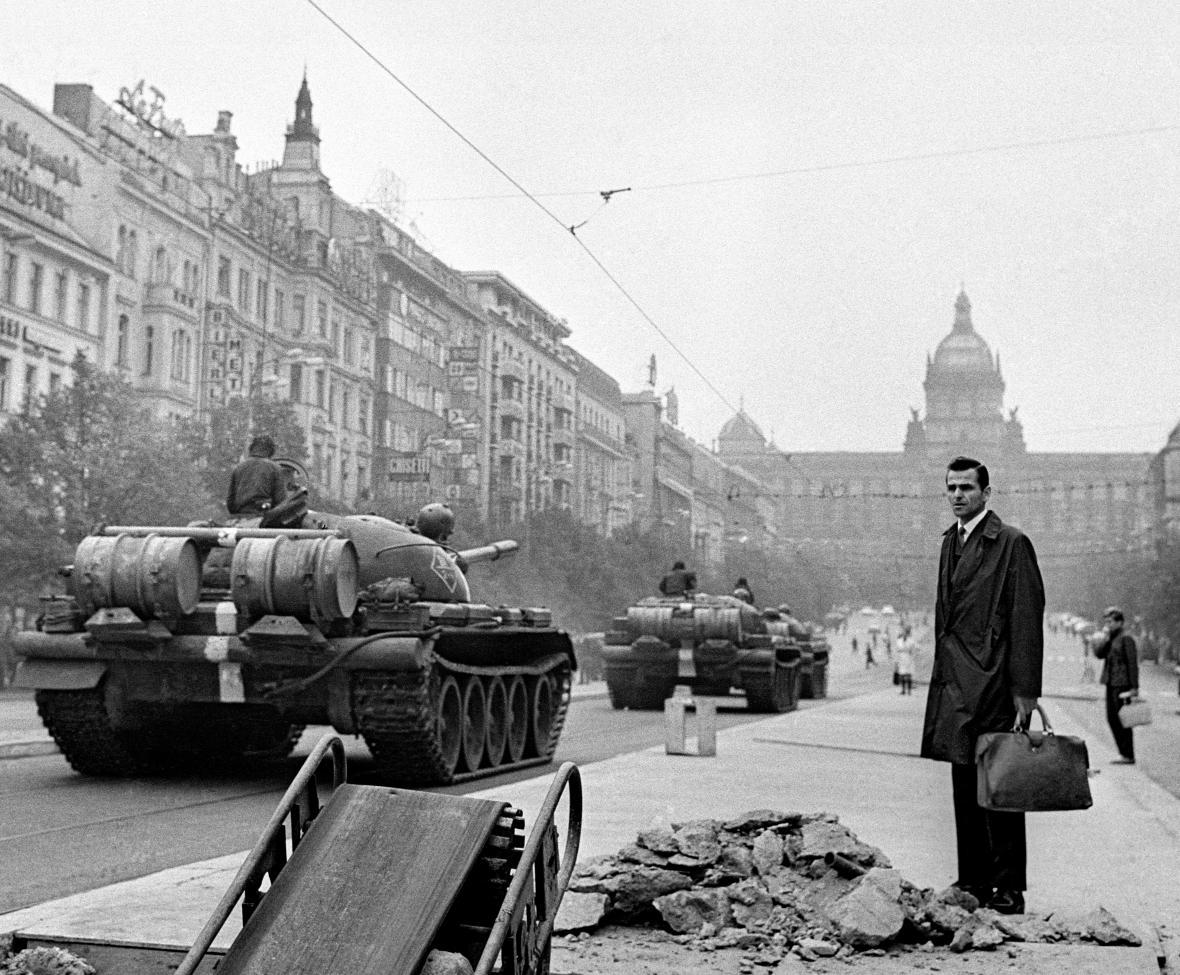 Fotografie Vladimíra Lammera z roku 1968
