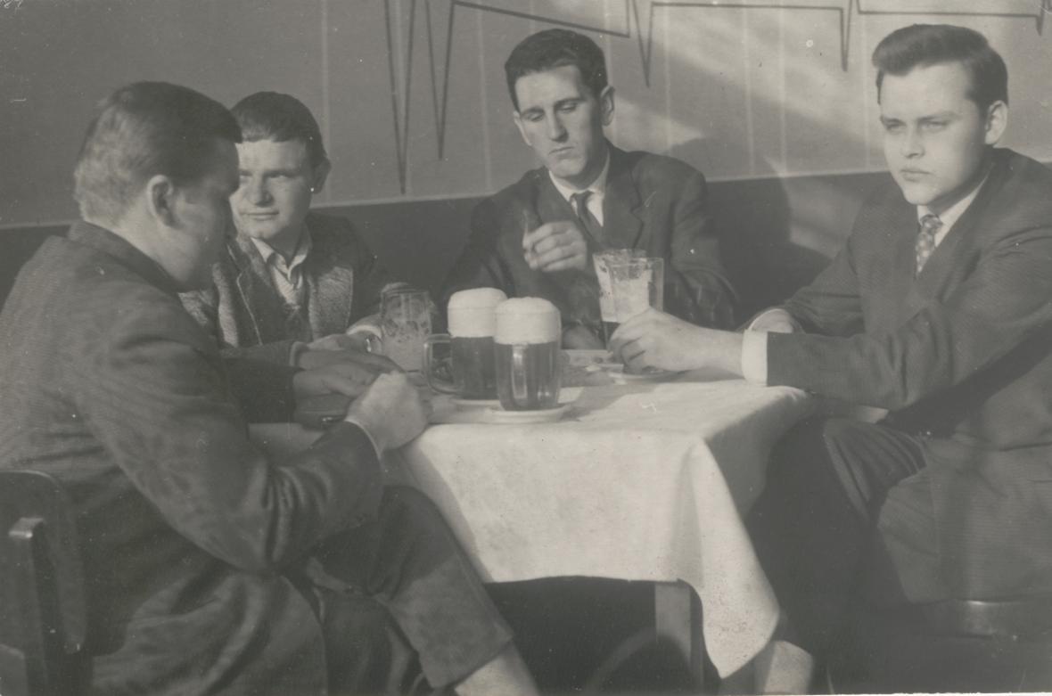 Z rodinného archivu Jaroslava Nováka