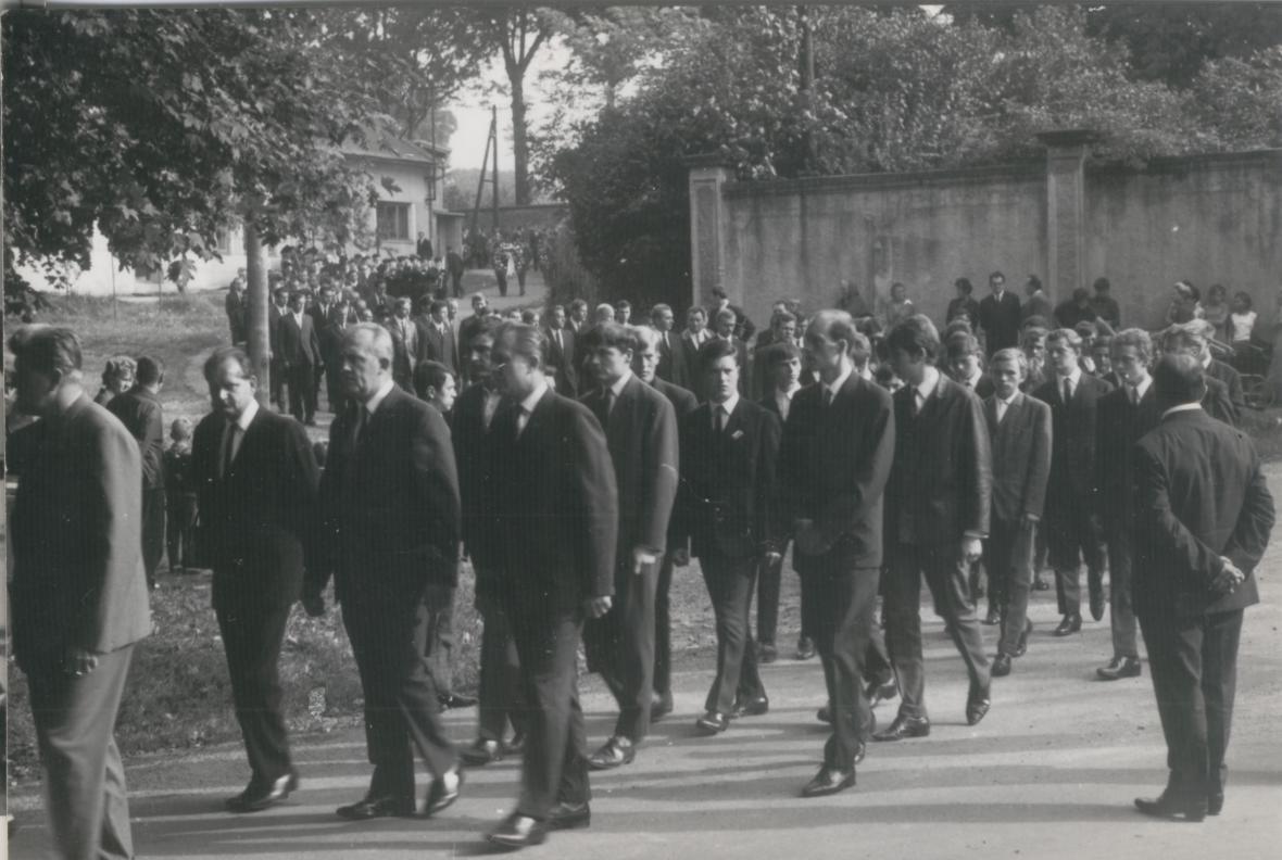 Pohřeb Jaroslava Nováka