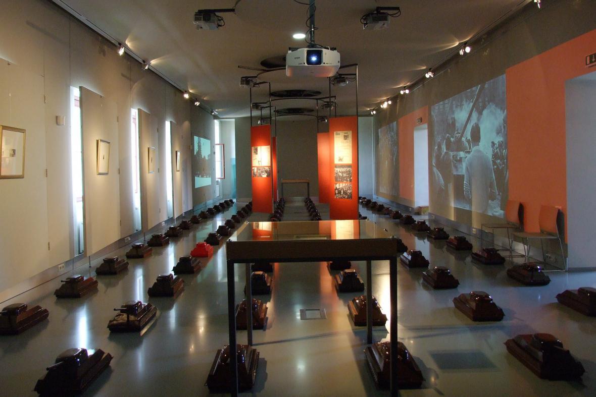 Výstava připomínající Jaroslava Nováka (Muzeum Napajedla)