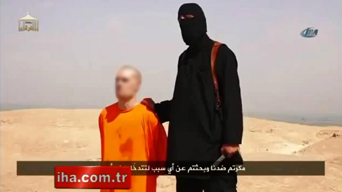 IS zveřejnil video s vraždou novináře Jamese Foleyho