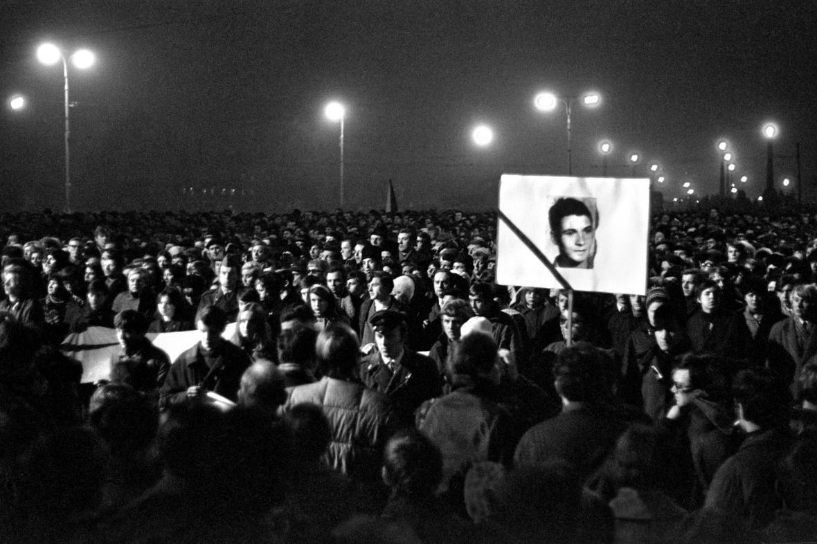 Fotografie Jana Kučery z roku 1969