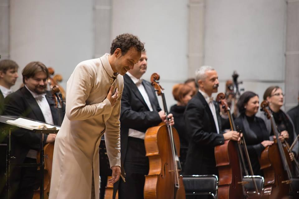 Filharmonie Brno při zahájení MHF Špilberk 2014