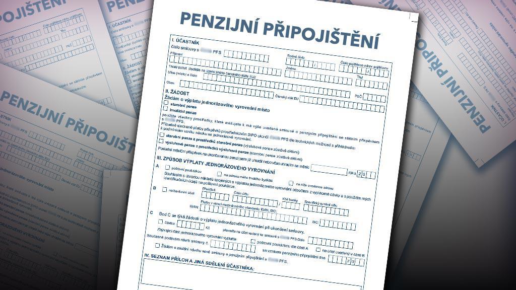 Smlouva na penzijní připojištění