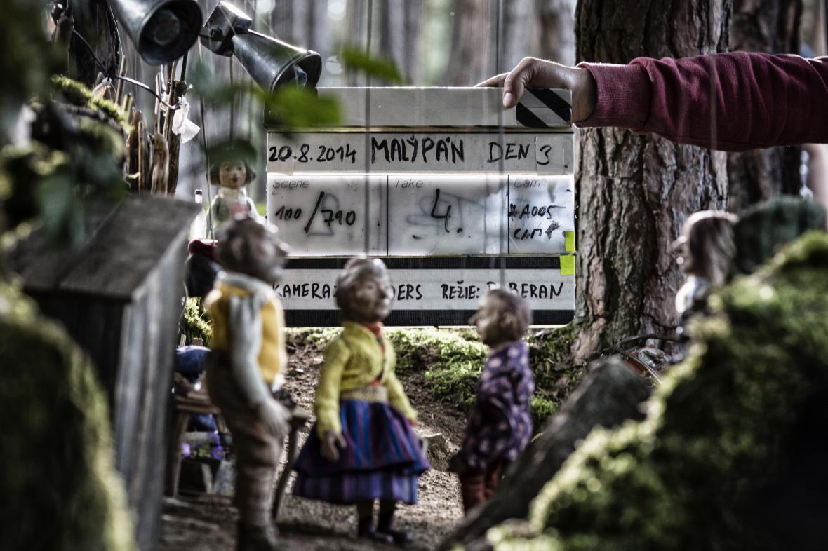 Natáčení pohádky Malý pán