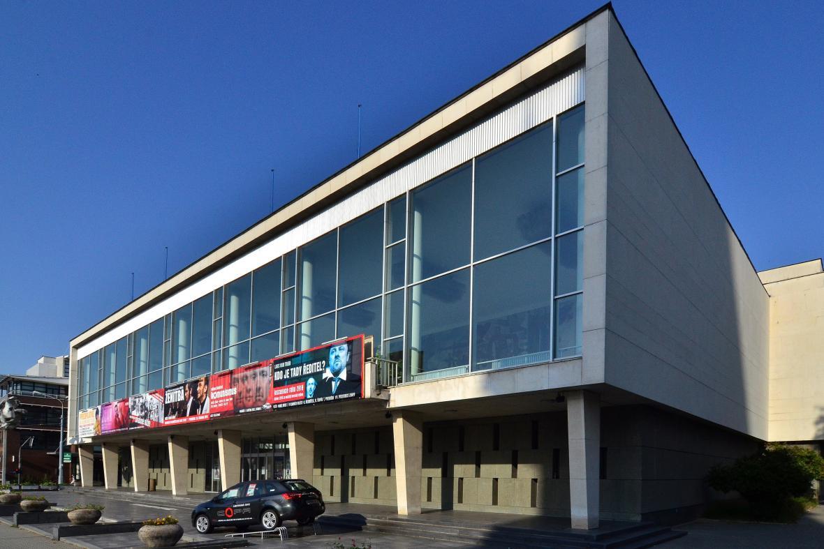 Budova Městského divadla ve Zlíně