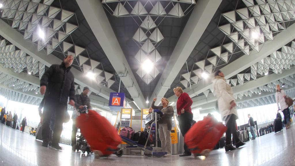 Frankfurtské letiště