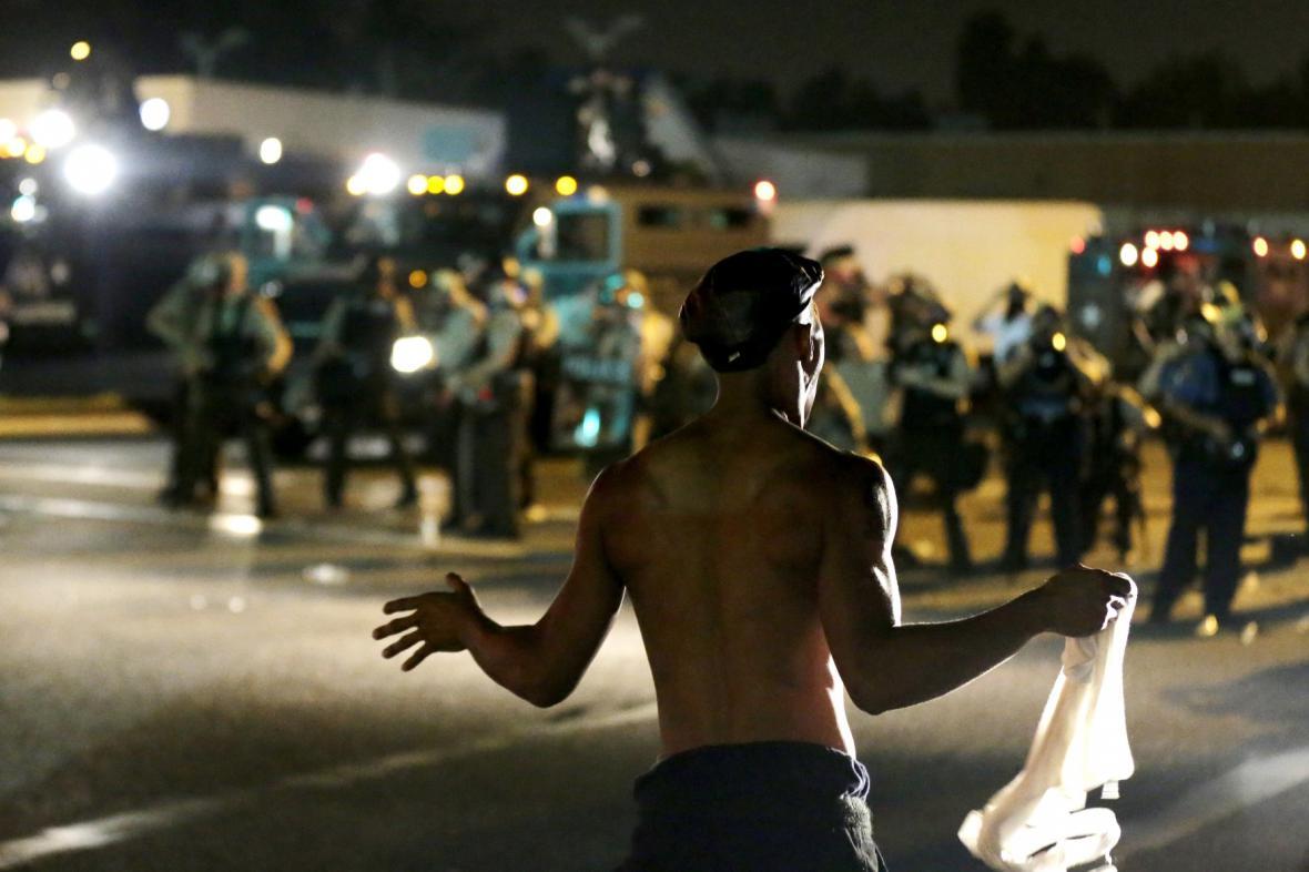 Nepokoje ve Fergusonu