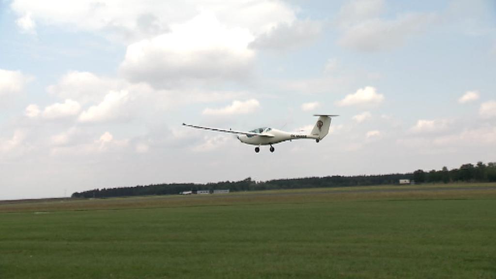 Unikátní letadlo na elektrický pohon