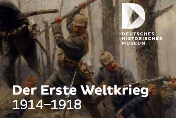 Výstava v Berlíně o první světové válce