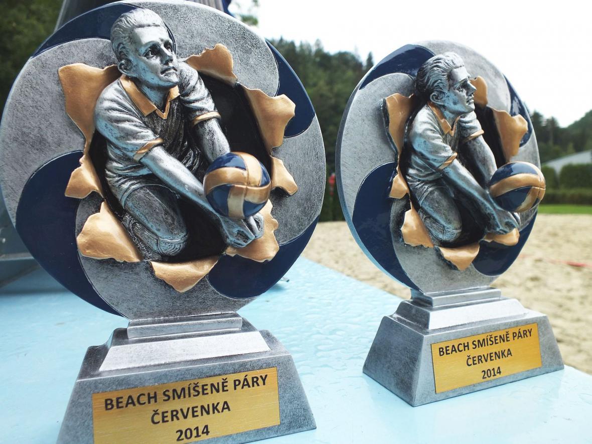 Soutěž v plážovém volejbale v Boskovicích