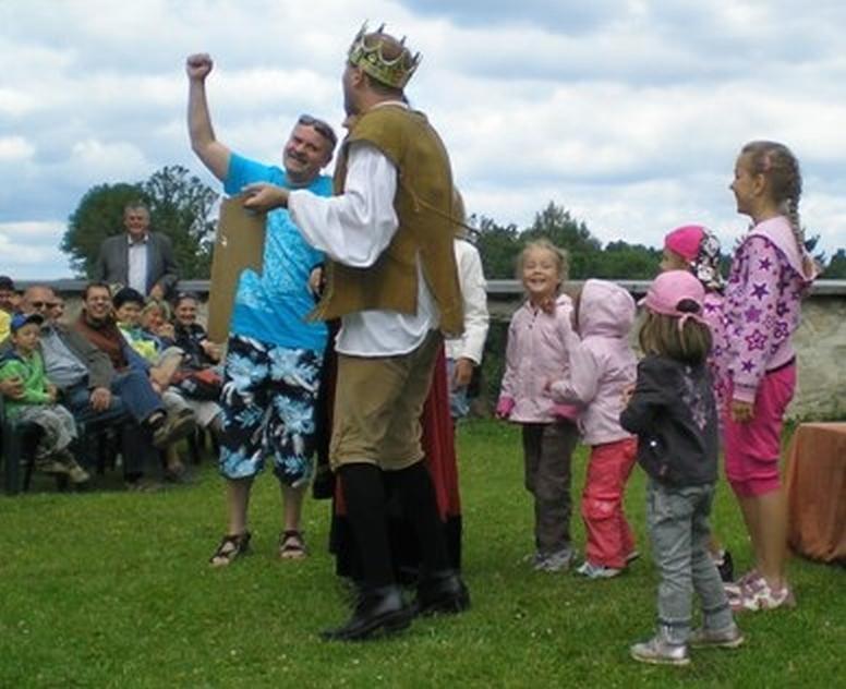 Dětské odpoledne na hradě Seeberg