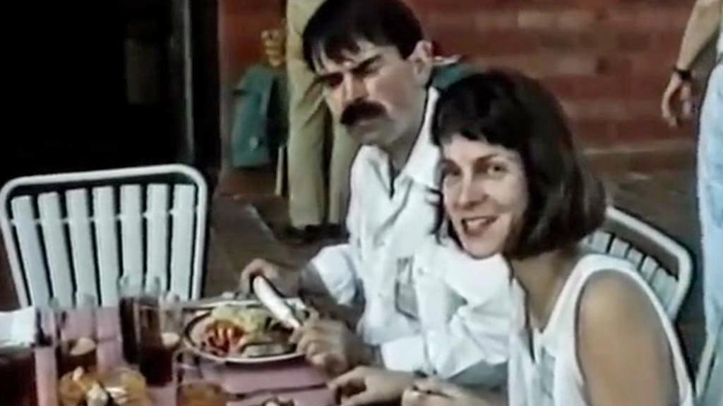 Gustl Mollath s manželkou Petrou
