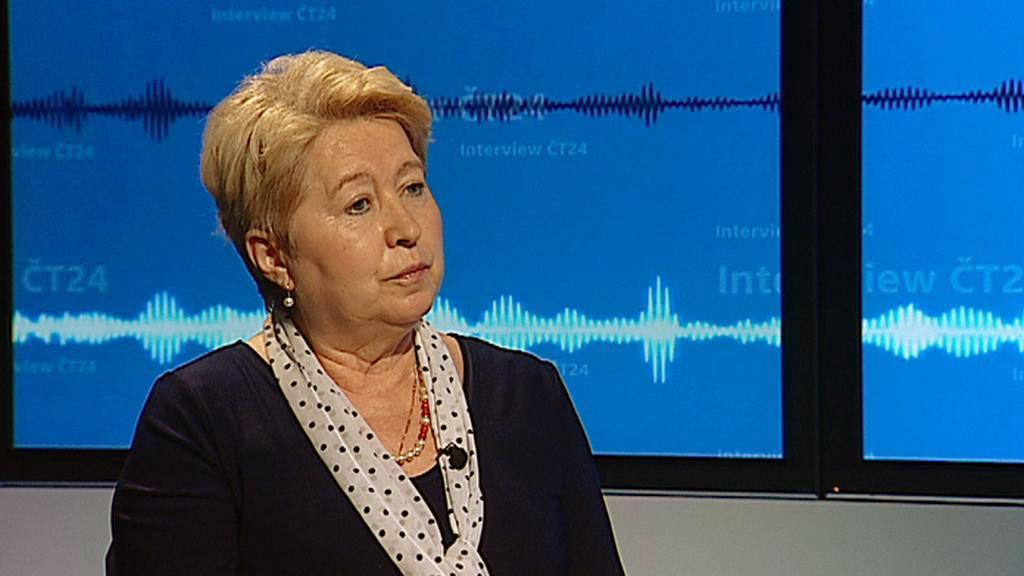 Oksana Pelenská v Interview ČT24