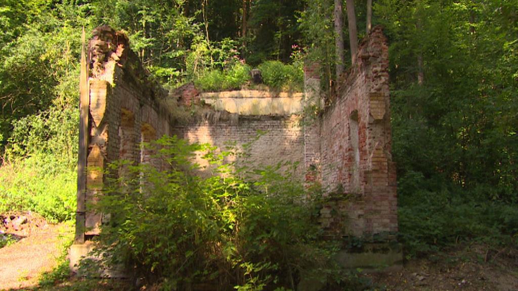 Torzo zahradního altánu v areálu Rudolfova dvoru