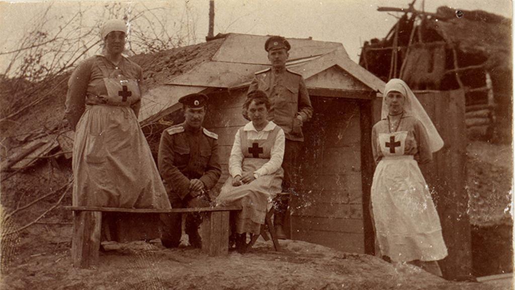 Z výstavy Rusko v první světové válce