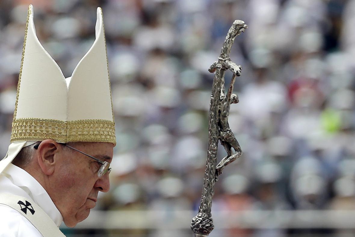 Papež František v Jižní Koreji