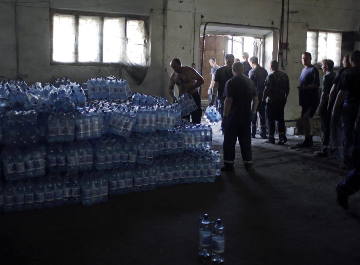 Ukrajinská humanitární pomoc Luhansku