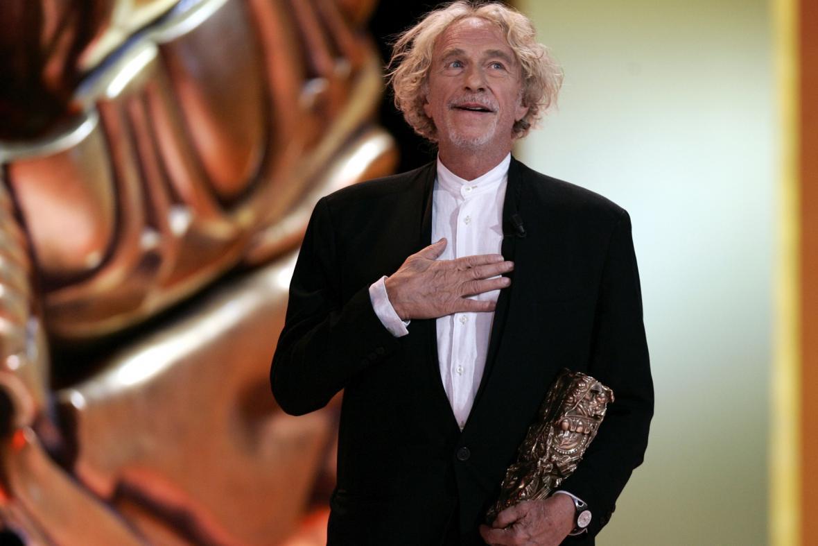 Pierre Richard na předávání Césarů v roce 2006