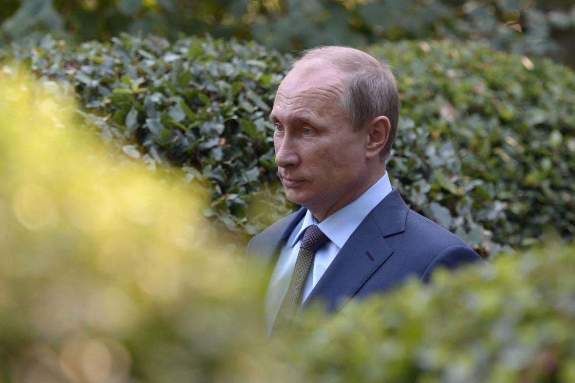 Ruský prezident na Krymu