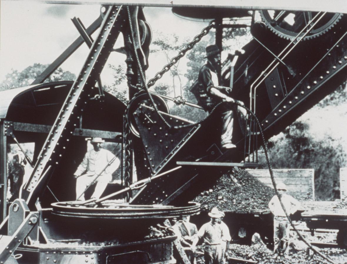 Stavba Panamského průplavu