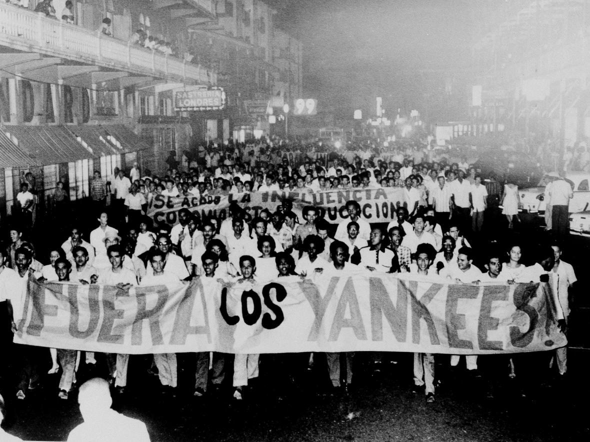 Panamský protest