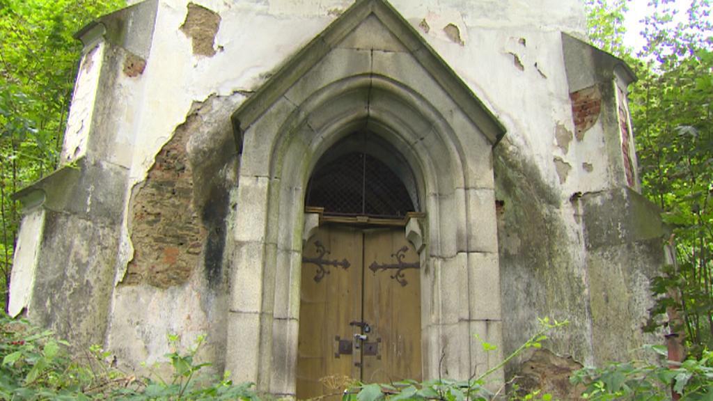 Kaple u lázní svaté Markéty v Prachaticích