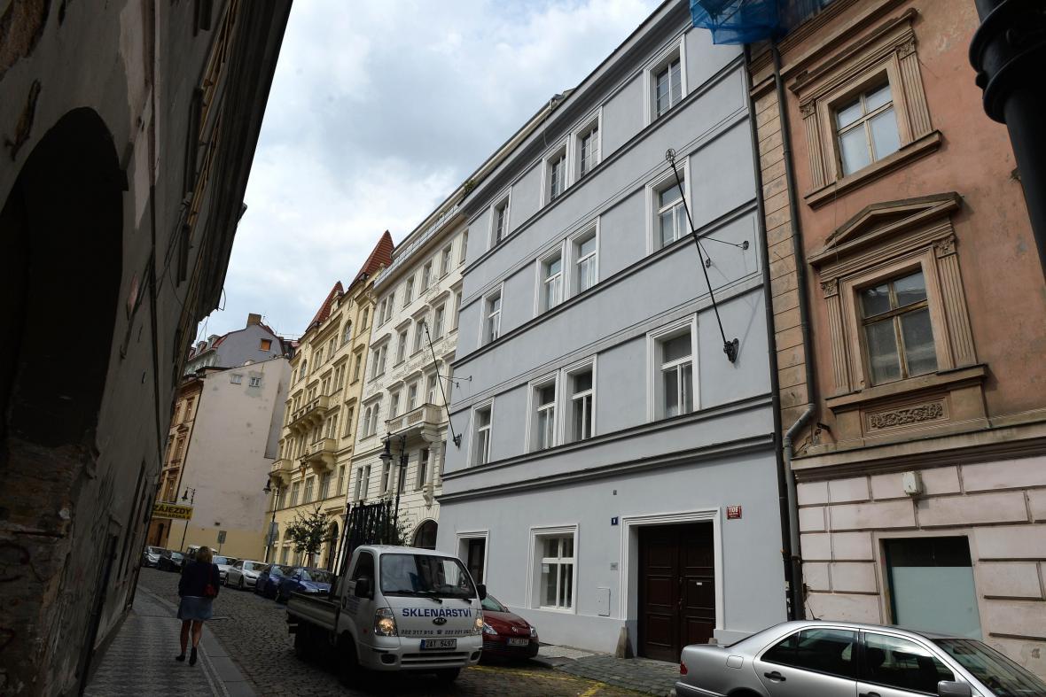 Truhlářská ulice - nové sídlo ODS